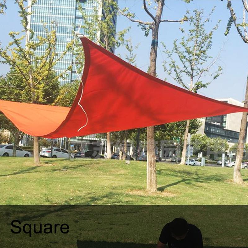 [해외]안티 UV 콤비네이션 쉐이드 네트 천막 캐노피 방수 패티오 일 그늘 세일 삼각형 3x3x3M 스퀘어 3x3M 홈 가든 텐트 그늘/Anti UV Combination Shade Net Awning Canopy Waterproof Patio Sun Shade Sai
