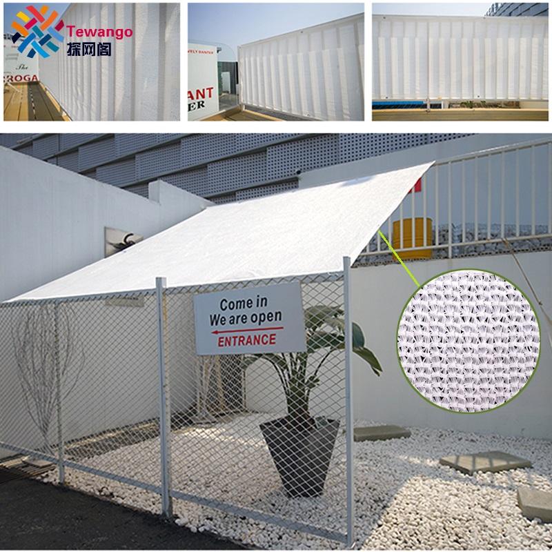 [해외]Tewango 상표 즙이 많은 식물 양산은 옥외 그늘 돛을 보호한다 백색 안뜰은 정원 커버를 자른다 95 % UV 차단 꽃 냉각 Systerm/Tewango Brand Succulent Plants Sunshade Protect Outdoor Shade Sail