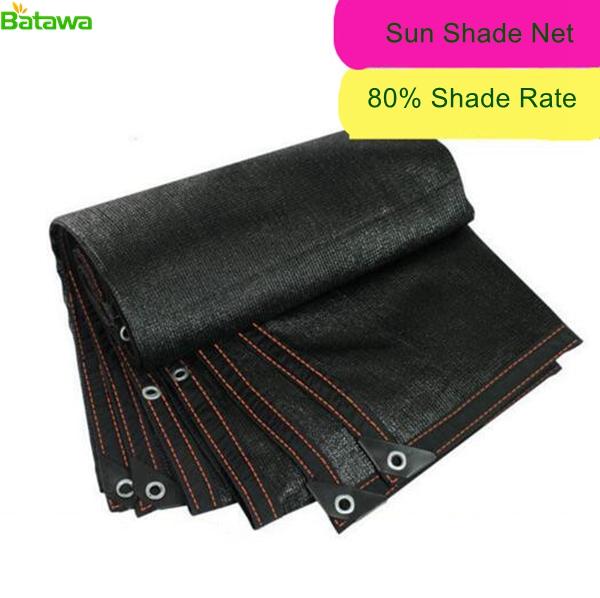 [해외]80 % 블랙 Sun Net Sun Mesh 그늘 Sunblock 그늘 천을 온실에 대한 정원 꽃 식물에 대한 자외선 방지 그물/80%  Black Sun Net Sun Mesh Shade Sunblock Shade Cloth UV Resistant Net Fo