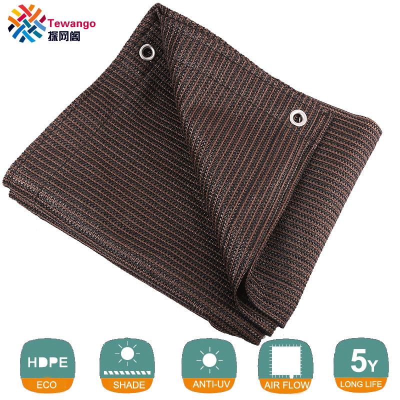 [해외]Tewango Brown Coffee 일광 그늘 세일 UV 블록 패브릭 캐노피 스퀘어 파티오 가든 맞춤형 크기 5 세 사용 가능/Tewango Brown Coffee Sun Shade Sail UV Block Fabric Canopy Square for Pati