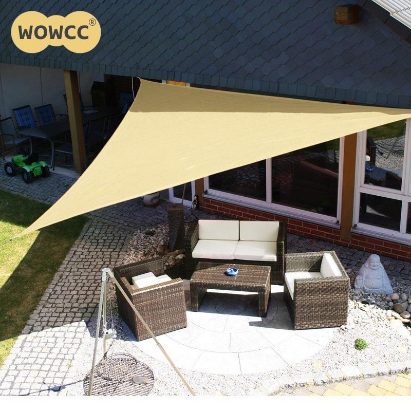 [해외]3M 야외 태양 대피소 방수 천막 삼각 천막 천막 정원 해변 피크닉 캠프 그늘 타르 여행 천막 양산 전망대/3M Outdoor Sun Shelter Waterproof Awning Triangle Tent Canopy Garden Beach Picnic Camp