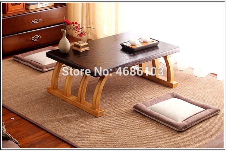 [해외]2019 New Paulownia wood Chinese  coffee table tea table Size 70x45x30cm  for living room side tables furniture small table  /2019 New Paulownia wo