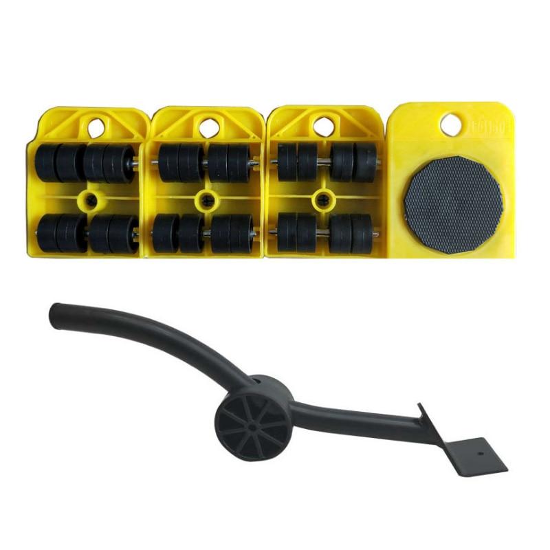 새로운 crowbar 플라스틱 발동기 두꺼운 무게 이동 이동 도구 편리하고 실용적인 조합 a3 스틸/플라스틱