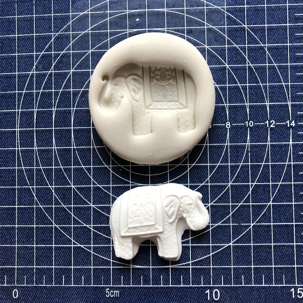 [해외]케이크 도구 1 pc 코끼리 실리콘 곰팡이 Sugarcraft 초콜릿 퐁 도구 금형 DIY/Cake Tool 1 pc elephant Silicone Mold Sugarcraft Chocolate fondant tool sugarcraft mould DIY