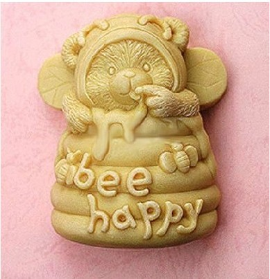 [해외]DIY Bee Honeycomb Craft Art Silicone Soap mold Craft Molds Silicone Candle Mold 3D Silicone Chocolate Mould Cake Decor SM121/DIY Bee Honeycomb Cra