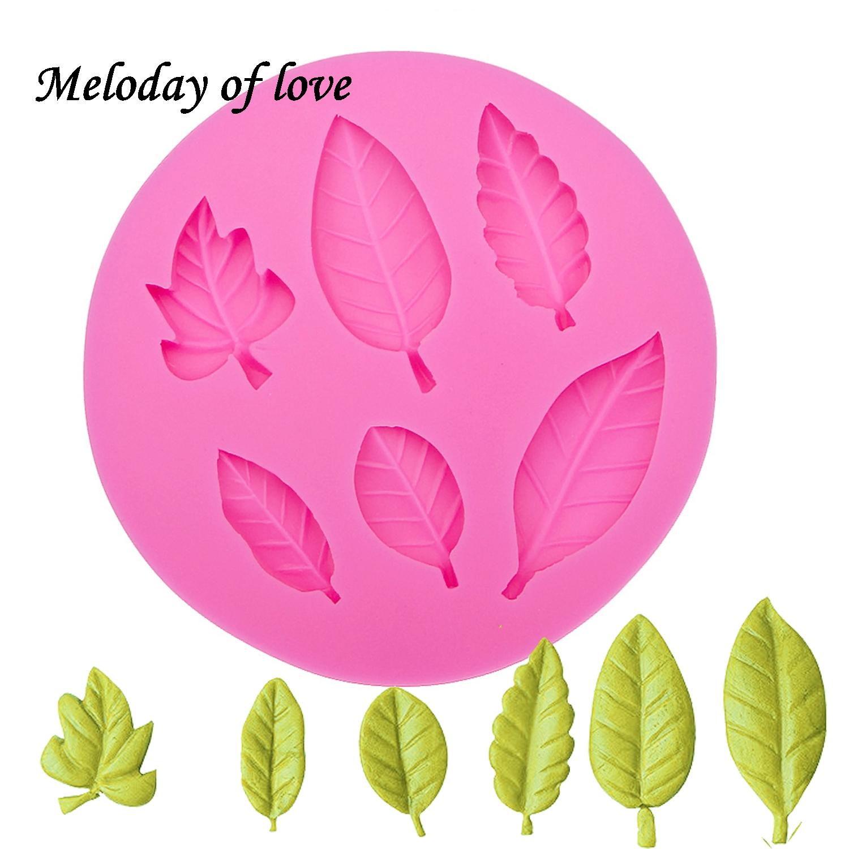 [해외]Maple leaf Silicone fondant molds cake decorating tools chocolate mould Flexible Baking tool dessert decorators moulds 0027/Maple leaf Silicone fo