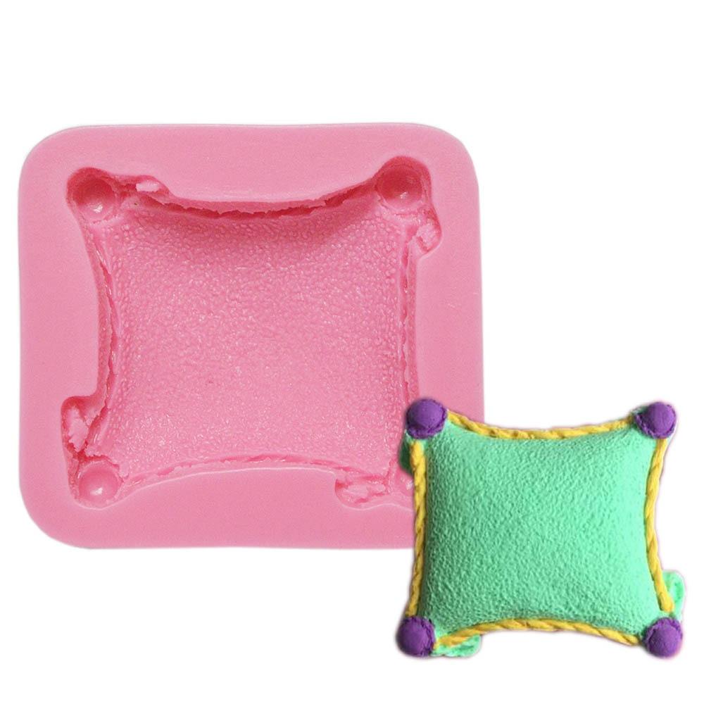 [해외]Classic Design Silicone Mold Pillow Fondant Cake Decorating Tools Cushions Mold Silicone Cake Tools Baking Tools For Cakes FM798/Classic Design Si