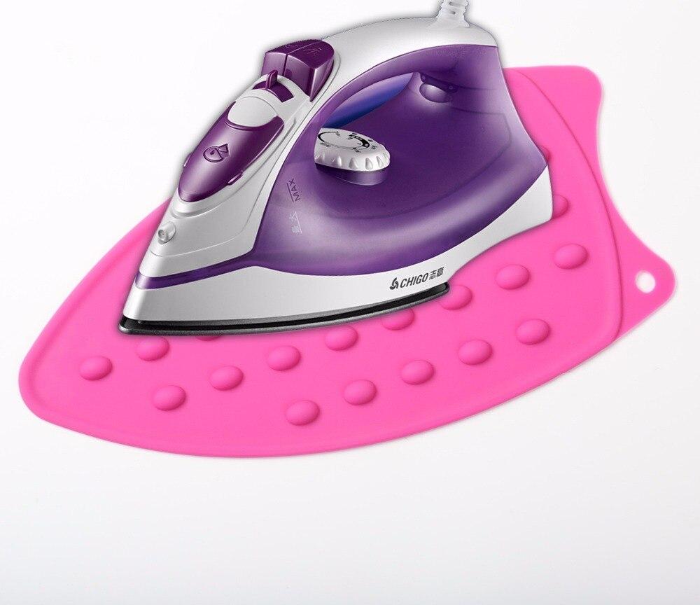 [해외]1PC 27x14cm Silicone Non-slip Heat Resistant Irons Mat Coaster Cushion Placemat Pot Holder Kitchen Accessories ELB 048/1PC 27x14cm Silicone Non-sl