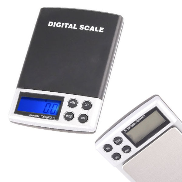 [해외] or  50 pieces Pocket LCD Mini Electronic Digital Balance Weight Scale 0.1-1000g/ or  50 pieces Pocket LCD Mini Electronic Digital Balance Weight
