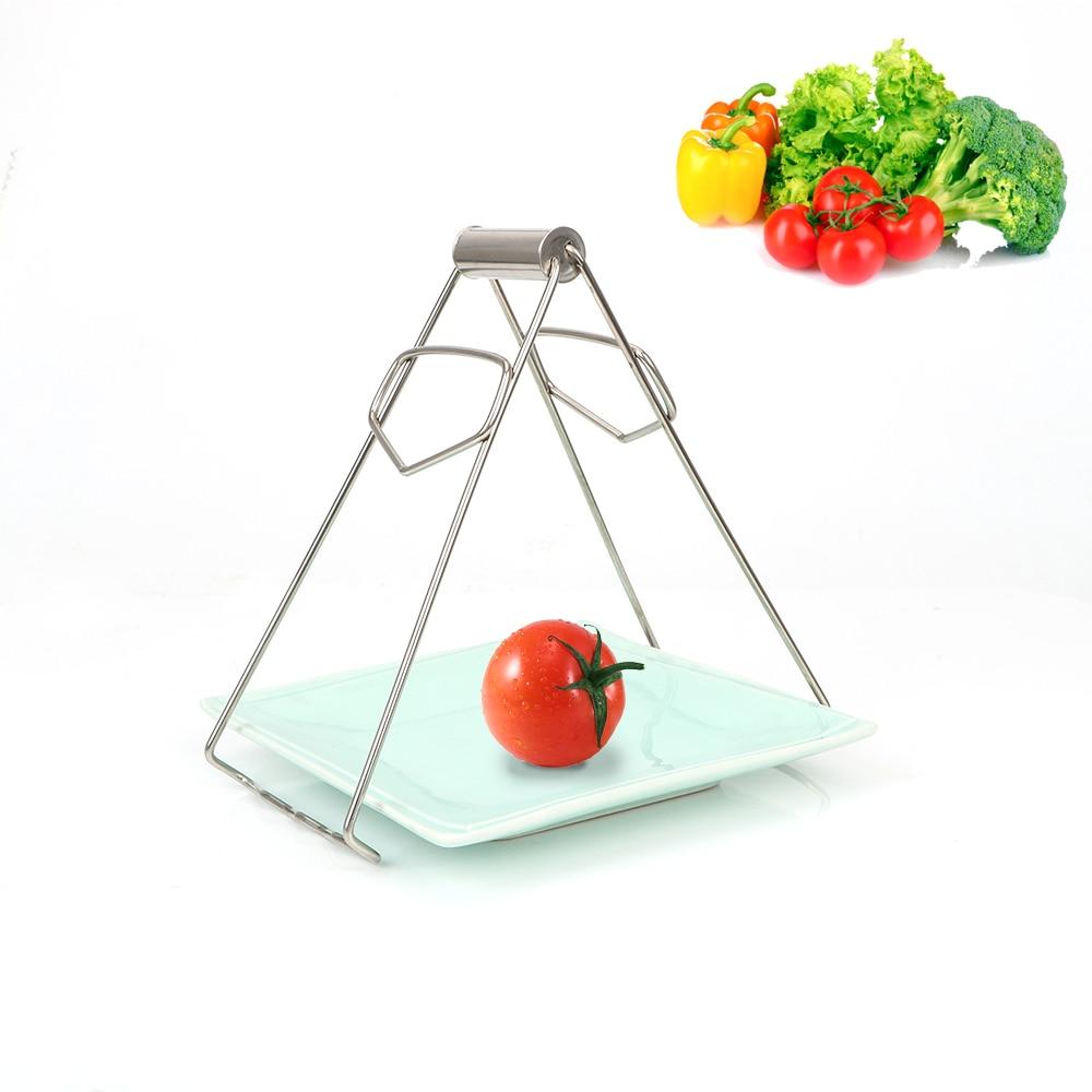 [해외]Stainless Steel Anti-hot Bowl Holder Clamp Take Bowl Plate Dish Clip Tongs Kitchen Accessories Cooking Tool/Stainless Steel Anti-hot Bowl Holder C