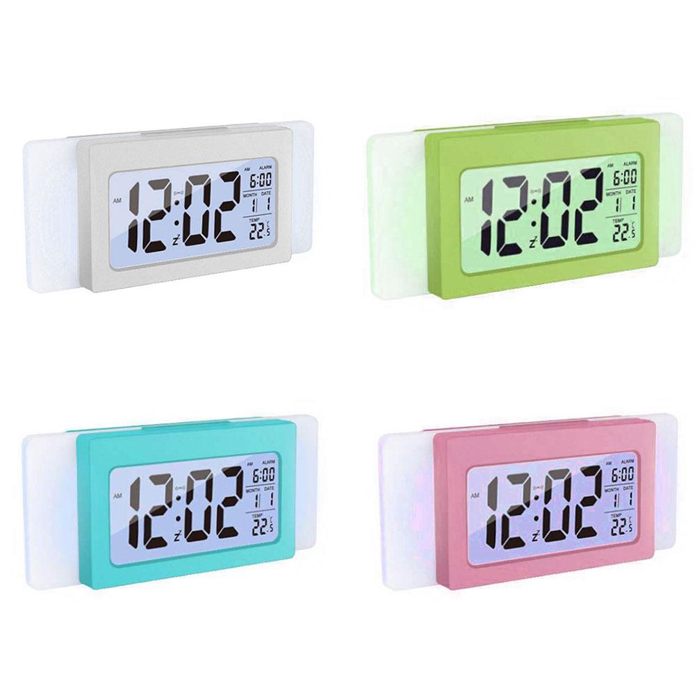 [해외]새로운 다기능 디지털 시계 대형 스크린 디스플레이 시간 온도/New Multifunctional Digital ClockLarge Screen Display Time Temperature