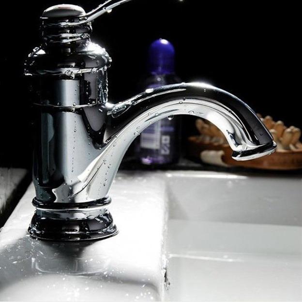 [해외] 높은 품질의 견고한 황동 따뜻한 음식과 차가운 욕실 탭, torneira 파라 banheiro, 탭 믹서/Free shipping high quality solid brass hot and cold bathroom tap, torneira para banhei
