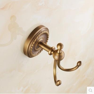 [해외]클래식 유럽 벽 마운트 금 / 블랙 / 청동 닦 았 황동 1-3 유럽 로브 후크 코트 훅/Classical European Wall Mounted Gold/Black/Bronze Brushed Brass 1-3 Europe Robe Hooks Coat Hook