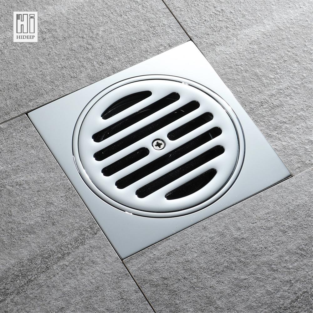 [해외]HIDEEP 황동 크롬 도금 주방 필터 스트레이너 드레이너 배수 탈취 유형 구리 커버 층 배수구 가족 용/HIDEEP Brass Chrome Plated Kitchen Filter Strainer Drainer Drain Bathroom Deodorization