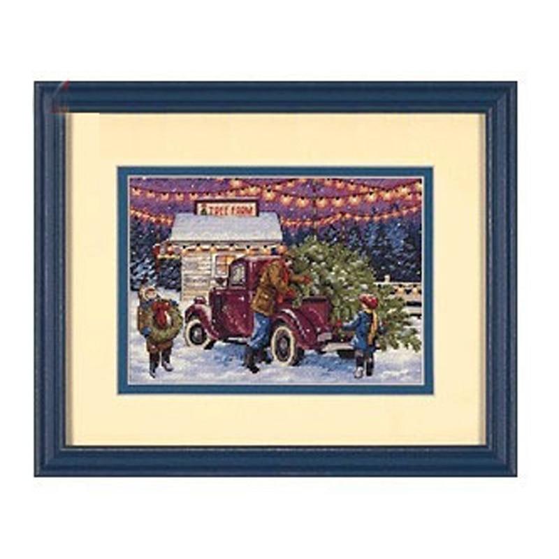 [해외]Top Quality Hot Selling Lovely Counted Cross Stitch Kit Christmas Tree Ornament Dim 08802/Top Quality Hot Selling Lovely Counted Cross Stitch Kit