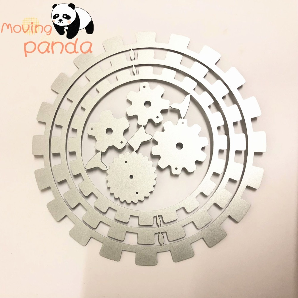 [해외]gear metal cutting dies cut die mold Scrapbook paper craft knife mould blade punch stencils dies/gear metal cutting dies cut die mold Scrapbook pa