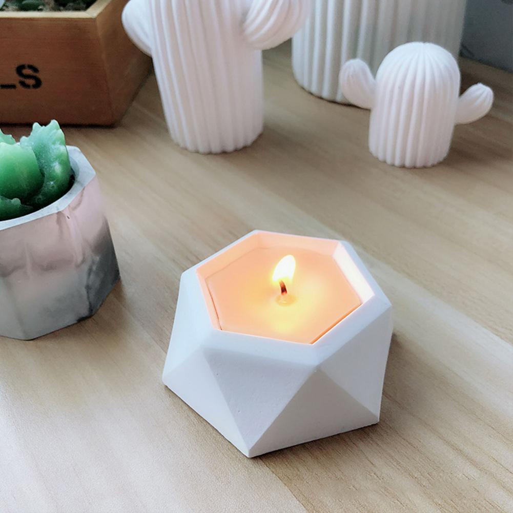 [해외]Diamond Shaped Surface Succulent Plant Flower Pot Silicone Mold Gypsum Cement Fleshy Flower Bonsai DIY Ashtray Candle Holder /Diamond Shaped Surfa