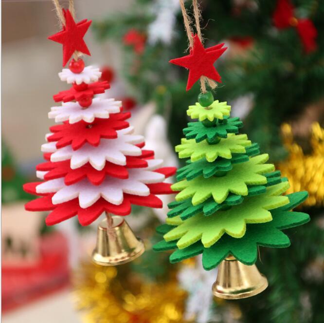 [해외]New Christmas Decoration Christmas Tree Pendant DIY Wind Chimes Christmas Decoration Props Bell Door Hanging Children`s Gifts/New Christmas Decora