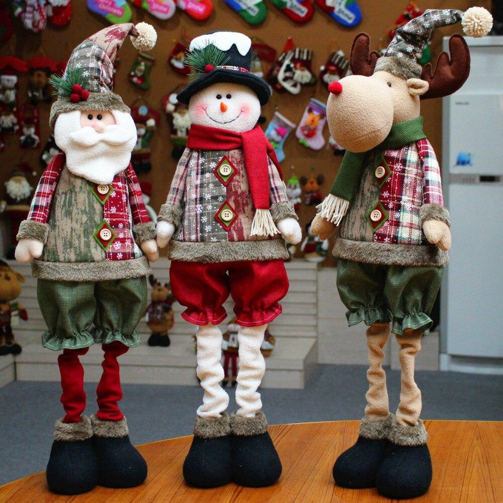 [해외]2019 Home Decoration for Christmas Creative Christmas Decorations Santa Claus Dolls Christmas Decor STQY002/2019 Home Decoration for Christmas Cre