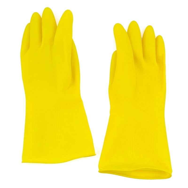 [해외]Waterproof Rubber Latex Gloves for Dish Washing Laundry Housework Home Kitchen Clean Accessories Tools/Waterproof Rubber Latex Gloves for Dish Was