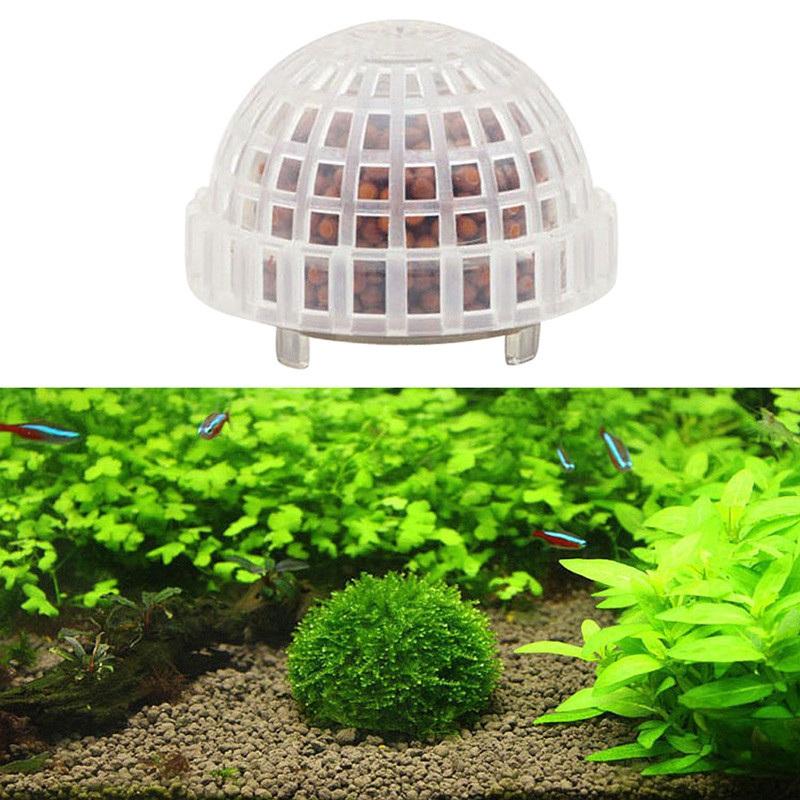 [해외]Aquarium Ball for Aquarium Decoration Transparent Landscaping Plants Holder Floating Moss /Aquarium Ball for Aquarium Decoration Transparent Lands