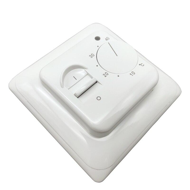 [해외]M5 러시아에서 배송 할 수 있습니다 전기 바닥 난방 실 수동 온도 조절기 수동 따뜻한 바닥 난방 시스템 온도 컨트롤러/M5 러시아에서 배송 할 수 있습니다 전기 바닥 난방 실 수동 온도 조절기 수동 따뜻한 바닥 난방 시스템 온도 컨트롤러