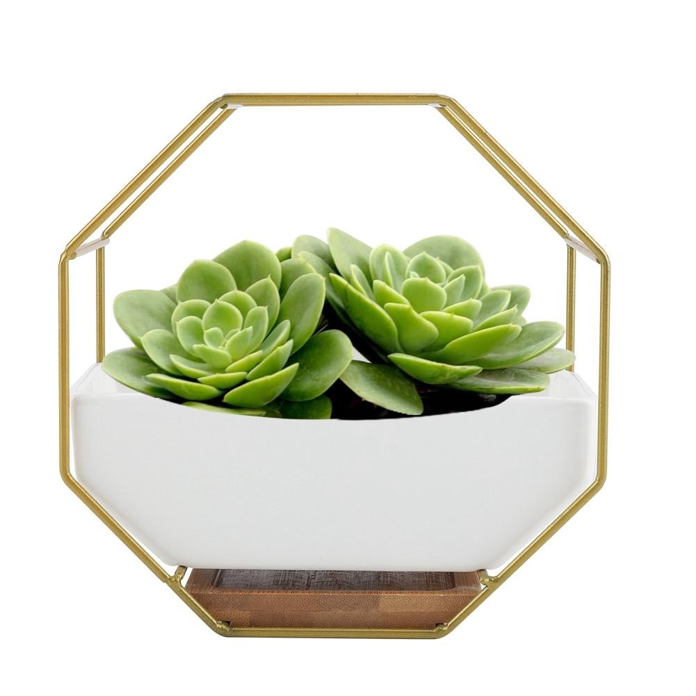 [해외]North European Style Ceramic Flower Pot Succulent Plants Holder Rack Home Office Decor 2019/North European Style Ceramic Flower Pot Succulent Plan