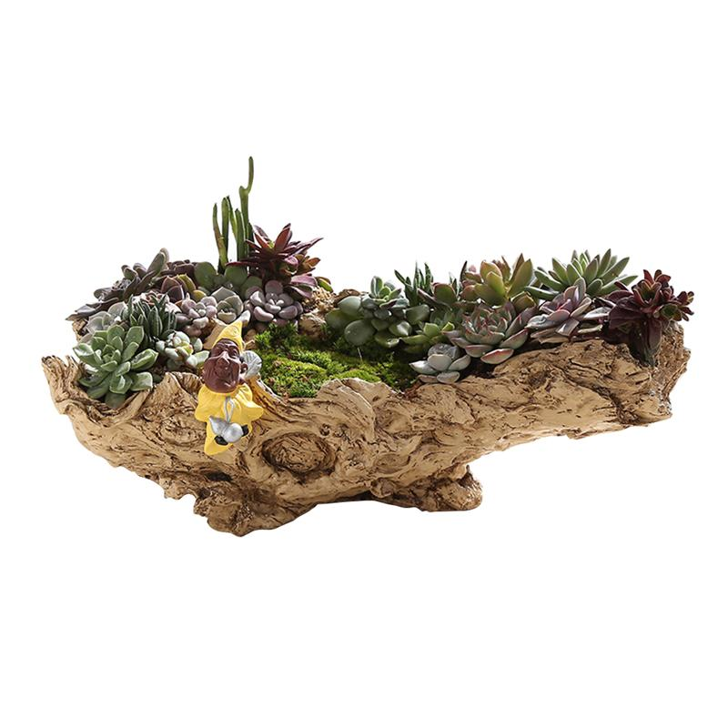 [해외]NEW Simulation Tree Root Succulent Plant Pot DIY Garden Planting Pots Outdoor Botanic Garden Beautiful Garden Flower Pots/NEW Simulation Tree Root