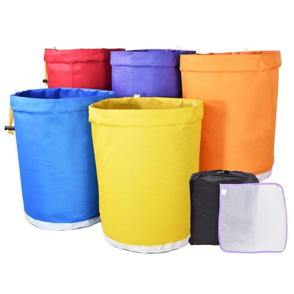 [해외]5 Gallon Filter Bag Bubble Bag Garden Grow Bag Hash Herbal Ice Essence Extractor Kit Extraction BagsPressing Screen/5 Gallon Filter Bag Bubble Bag