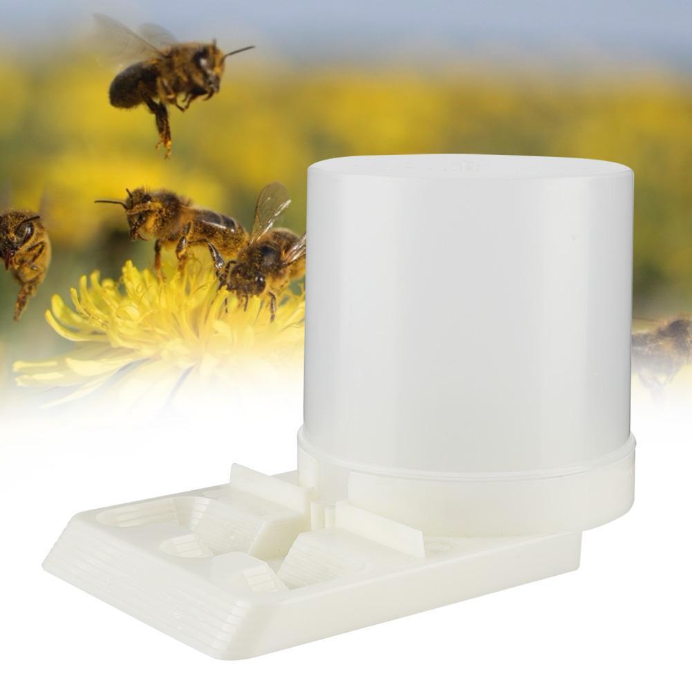 허니 양봉가 도구 700 ml 벌집 꿀벌 입구 급수기 양봉가 마시는 그릇 도구