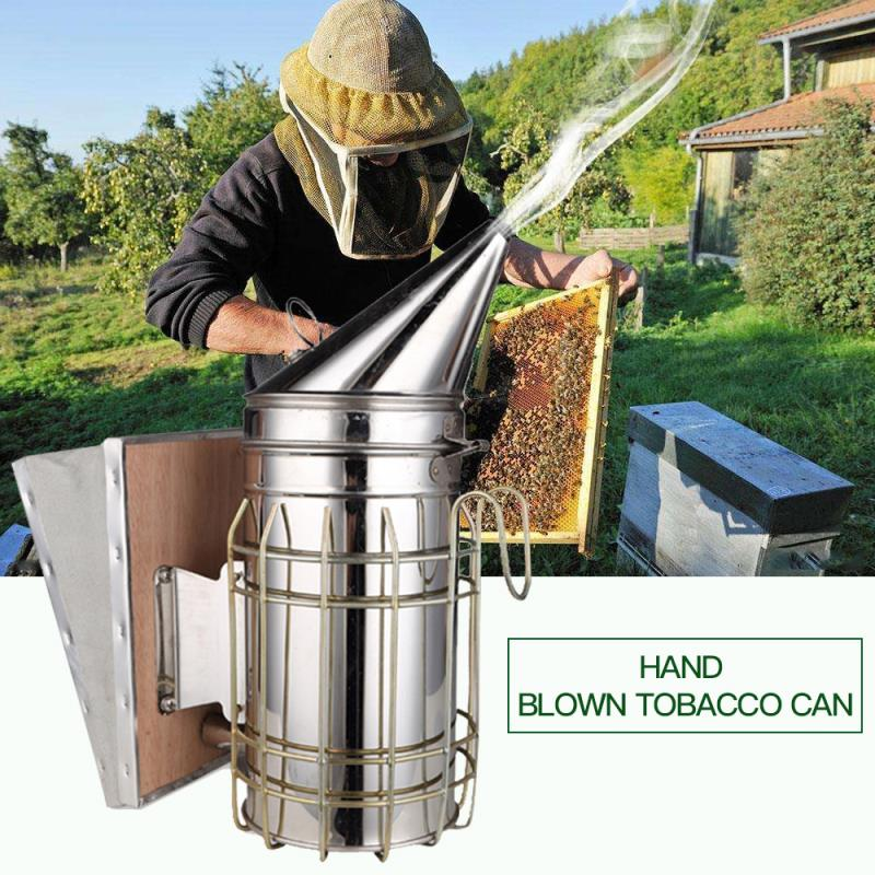 [해외]Bee Smoker  Manual Bee Smoke Sprayer Stainless Steel Beekeeping Tools /Bee Smoker  Manual Bee Smoke Sprayer Stainless Steel Beekeeping Tools