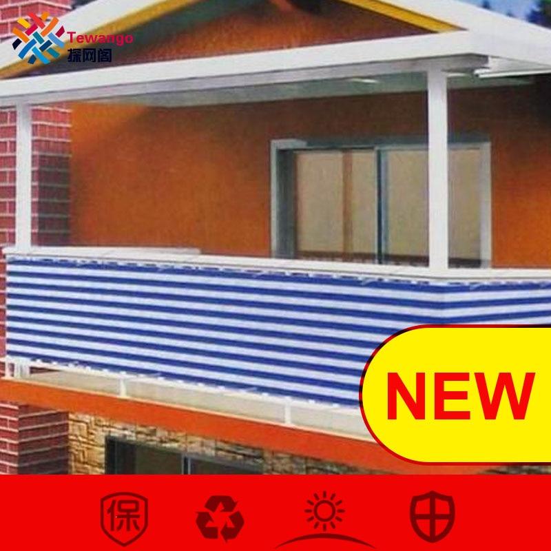 [해외]Tewango 사용자 정의 홈 발코니 개인 정보 보호 정책 화면 보호기 울타리 갑판 그늘 세일 마당 커버 자외선 차단 윈드 어린이 안전 보호/Tewango Custom Home Balcony Privacy ScreenGrommets Fence Deck Shade