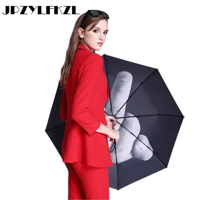 [해외]8K Creative Srong Windproof Automatic 3Folding Umbrella Rain Women Aluminum Alloy Umbrellas For Men Business Handle Paraguas/8K Creative Srong Win