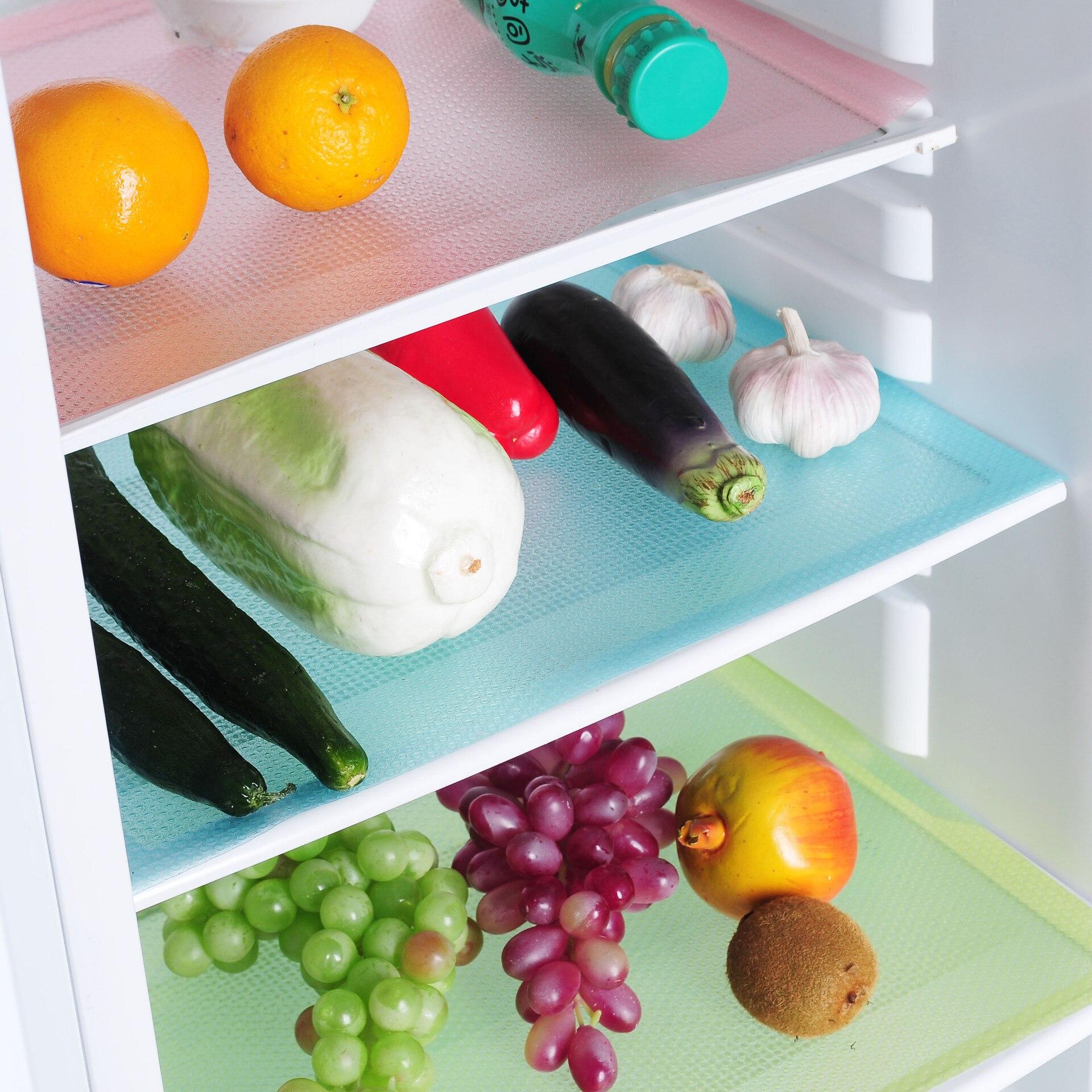 [해외]4 개/대 냉장고 패드 항균 방오 곰팡이 습기 재단 패드 냉장고 매트 방수 서랍 선반 라이너/4 개/대 냉장고 패드 항균 방오 곰팡이 습기 재단 패드 냉장고 매트 방수 서랍 선반 라이너