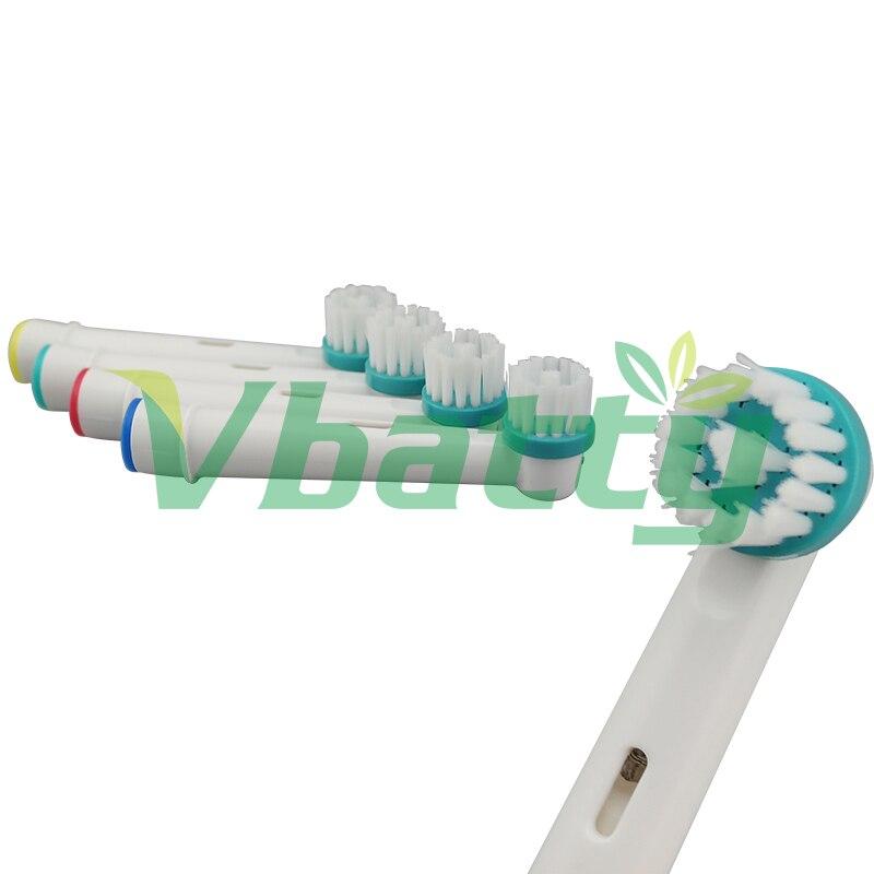 [해외]1019 Vbatty 1Set/4Pc  Electric Toothbrush Heads Replacement For Oral B OD-17A electric toothbrush Soft Bristle ()/1019 Vbatty 1Set/4Pc  Electric T