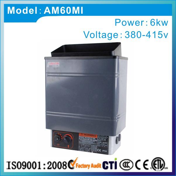 [해외]스테인리스 소재 및 CE 인증 6kw 380v 50hz 사우나 히터/Stainless steel material and CE certificated  6kw 380v 50hz sauna heater