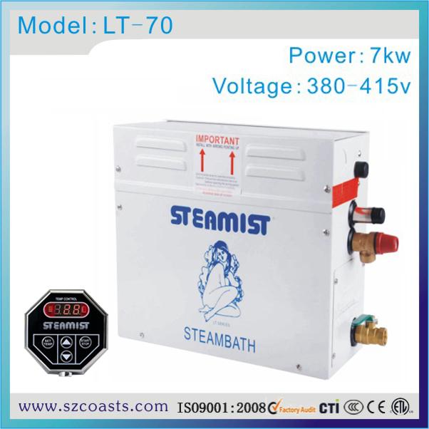 [해외]원래 Steamist 7kw 380v 가정용 증기 발생기/Original Steamist 7kw 380v steam  generator for home use