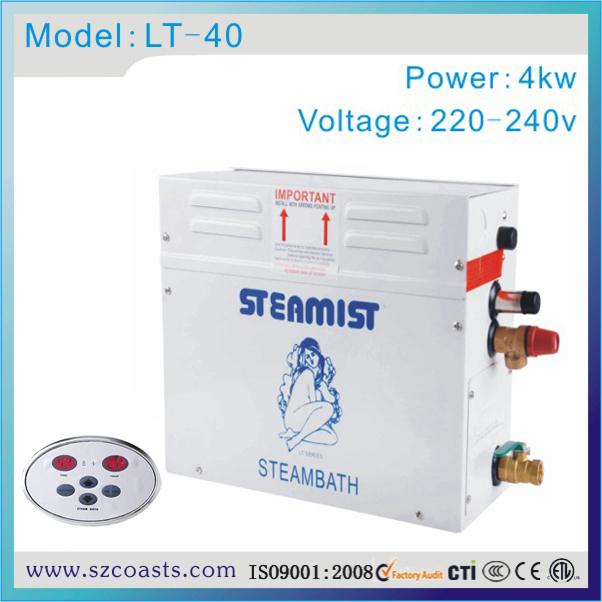 [해외] 원래 Steamist 4kw 220v 스팀 제너레이터, 사우나 증기선 1 년 보증/Free shipping original  Steamist 4kw 220v steam generator ,sauna steamer1 year warranty