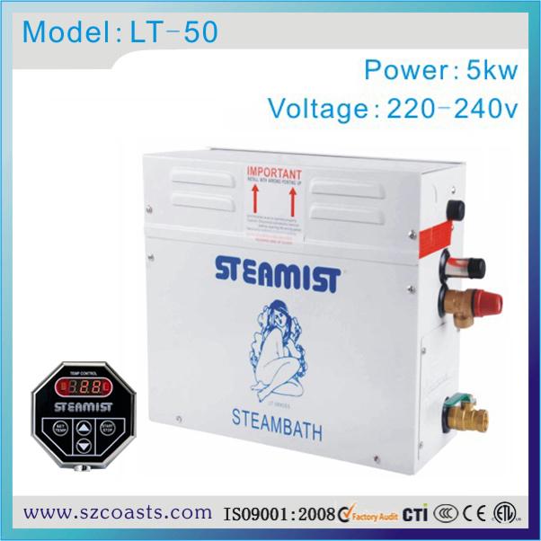 [해외]기존 Steamist 5kw 220v Steam Generator, 스팀 룸 유형 사우나 배스 증기선/Original Steamist  5kw 220v Steam Generator, Steam Rooms Type Sauna Bath Steamer