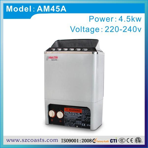 [해외]작은 사우나 룸 사용 4.5kw 220v 50-60hz 사우나 히터 CE 승인/Small sauna room use 4.5kw 220v 50-60hz  sauna heater CE approval