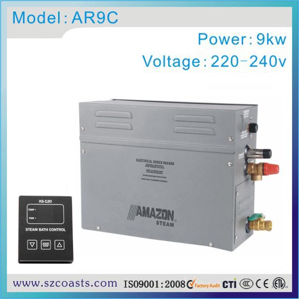 [해외]원래 AMazon 9kw 220v 50-60hz 스팀 사우나 룸 전기 스팀 생성기/Original AMazon 9kw 220v 50-60hz electric steam generator for steam sauna room