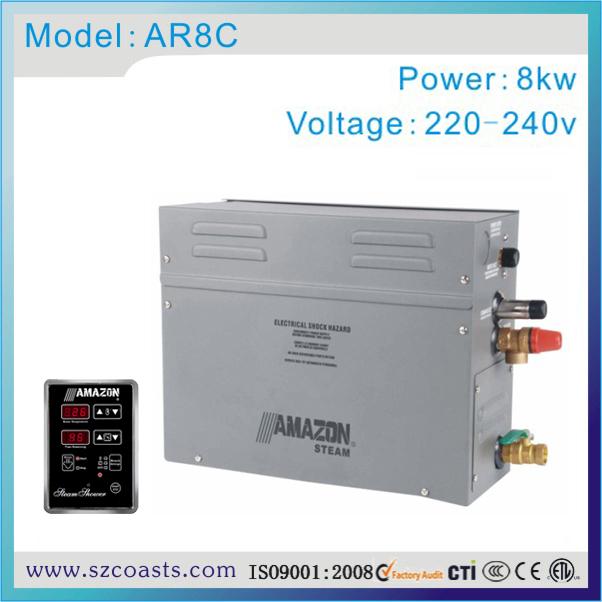 [해외]8KW 220V 50HZ 에너지 절약 사우나 증기 발생기에 대 한/8KW 220V 50HZ Energy Saving Sauna Steam Generator for