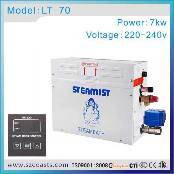 [해외]스팀 룸 기계 7kw 220v 사우나 스팀 생성기 스탐 증명 제어반/Steam Room Machine 7kw 220v Sauna Steam GeneratorSteam Proof Control Panel