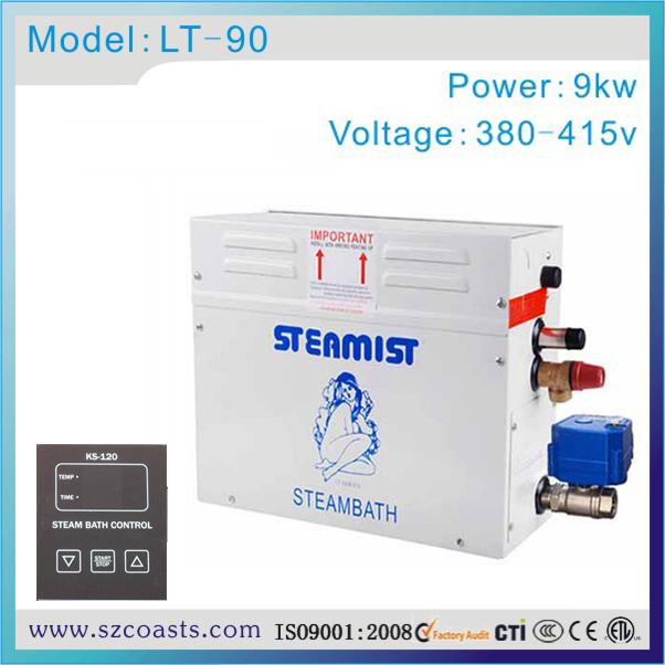 [해외]Steamist 9kw 380v 사우나 스팀 발생기 / 기화기, 젖은 스팀 샤워/Steamist 9kw 380v Sauna Steam Generator/Steamer  for Wet Steam Showers