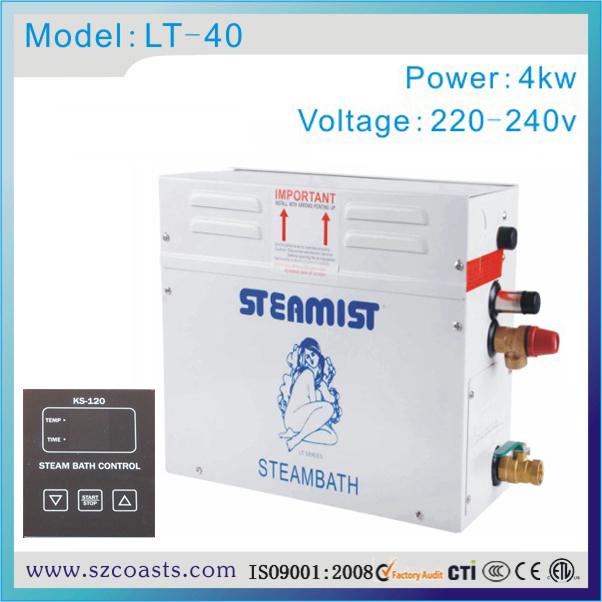 [해외] Steamist 4kw 220-240v 스팀 제너레이터 방수 컨트롤 패널/Free shipping Steamist 4kw 220-240v steam generatorwater -proof control panel