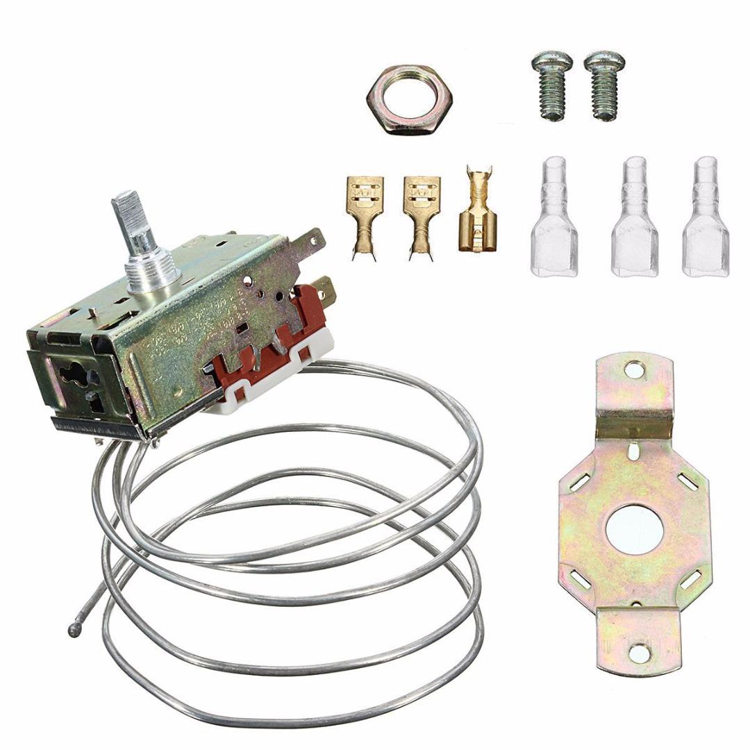 [해외]Mayitr K50 - P1126 냉동기 캐비닛 냉장고 부품을냉동 온도 조절기/Mayitr K50-P1126 Refrigeration Thermostat For Freezer Cabinet Refrigerator Parts