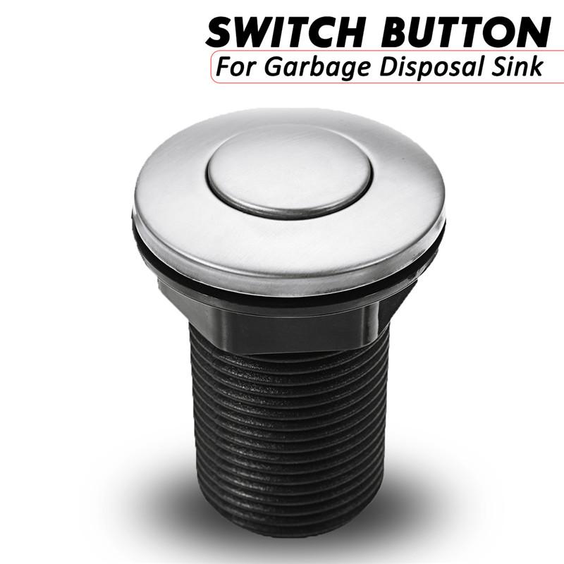 [해외]1PCS 32mm / 1.26inch 풀 펌프 쓰레기 처리 싱크 상단 공기 활성 스위치 공압 공기 단추 스위치/1Pcs 32mm / 1.26inch Pool Pump Pneumatic Air button Switch for Garbage Disposal Sink