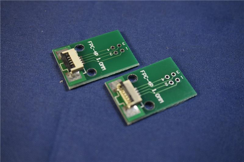 [해외]10pcs FPC / FFC 4 핀 1.00mm 피치 커넥터 SMT 어댑터 - 2.54mm 공간 1.00 인치 피치 스루 홀 DIP PCB 어댑터 솔더/10pcs FPC/FFC 4 PIN 1.00 mm pitch Connector SMT Adapter to 2.