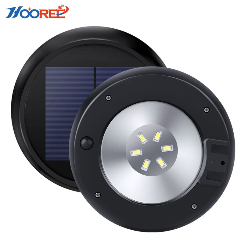 [해외]HOOREE 정원 태양 광 마이크로 웨이브 유도 태양 램프 야외 캠핑 벽 Energia Solar Led Light 방수 등/HOOREE Garden Solar Light Microwave Induction Solar Lamp Outdoor Camping Wal