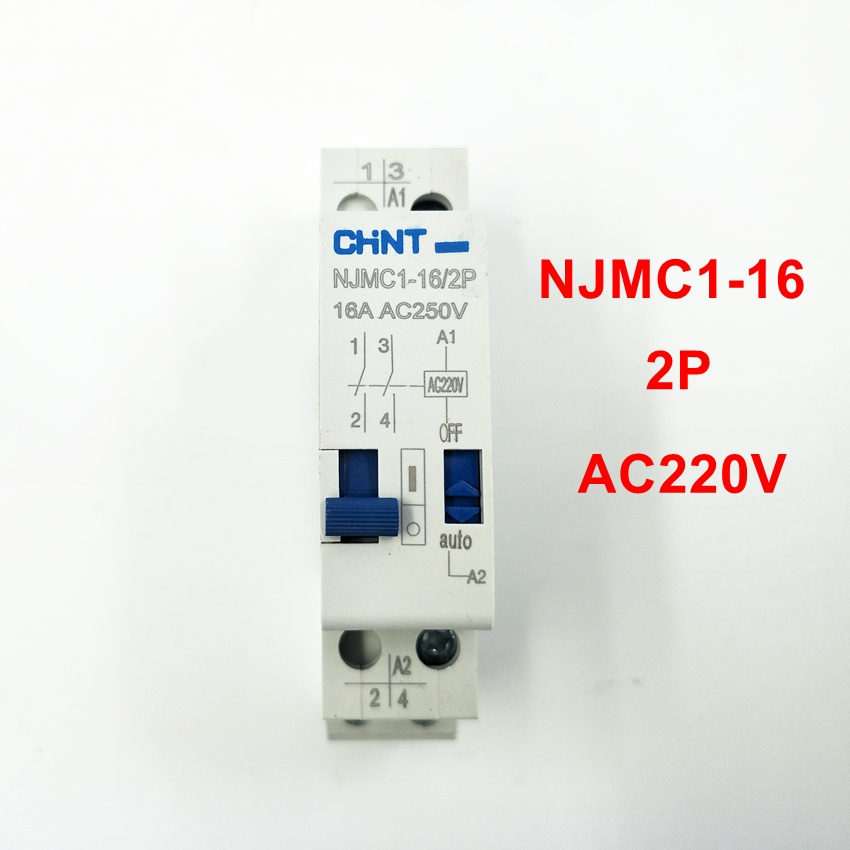 [해외]CHINT 펄스 릴레이 NJMC1-16 / 2P 16A AC220V 계전기/CHINT Pulse Relay NJMC1-16/2P  16A AC220V Relay